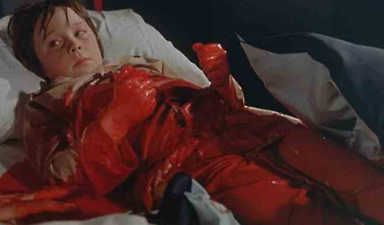 HOW MANY TIMES DO I HAVE TO TELL YOU, DON'T DRINK SO MUCH RED TEMPERA PAINT BEFORE BED???